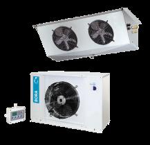 Seria LS  - urządzenia rozdzielone tzw. splity chłodnicze i mroźnicze – montowane na posadzce