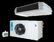 Seria HD urządzenia wyciszone dla chłodni gdzie pracują ludzie - splity chłodnicze i mroźnicze – montowane na posadzce
